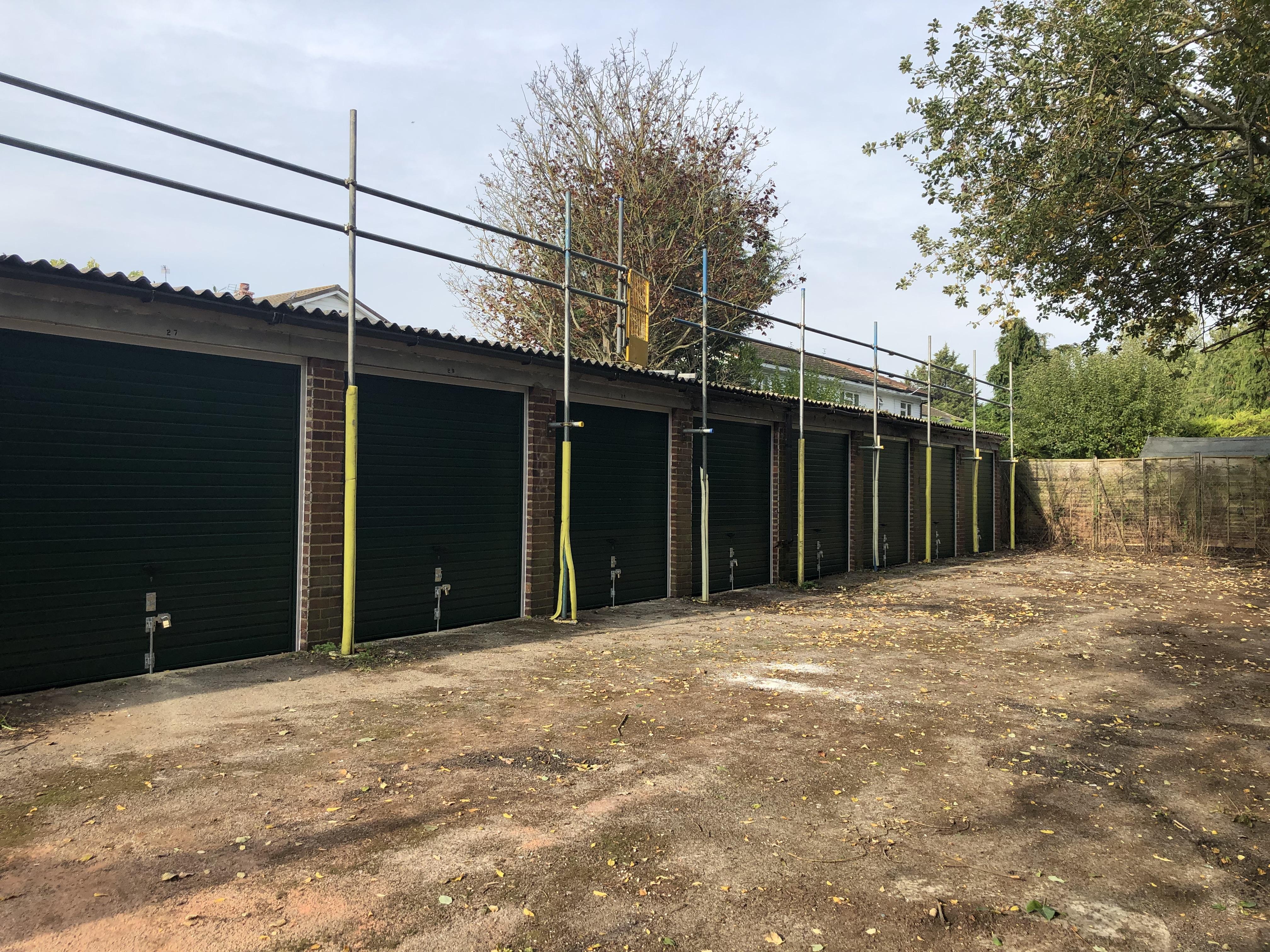 Refurbished garages in Windsor for rent